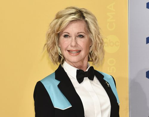 Olivia Newton-John has revealed she is using medicinal cannabis as part of her cancer treatment. (AAP)