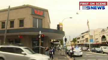 Sydney Marrickville Westpac Bank branch robbery