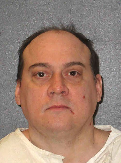 In this undated photo provided by the Texas Department of Criminal Justice is John Hummel. Hummel, convicted of capital murder in the deaths of his wife and father-in-law, is set to be executed on Wednesday, June 30, 2021, at the state penitentiary in Huntsville. Hummel's attorney did not plan to file any last-minute appeals. (Texas Department of Criminal Justice via AP)