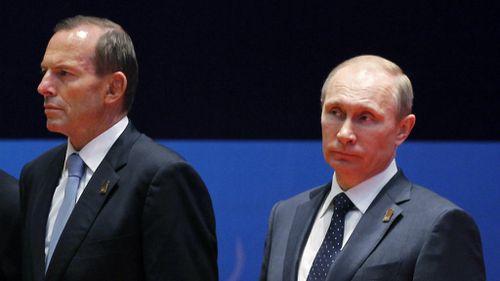 Putin and Abbott discuss international MH17 probe