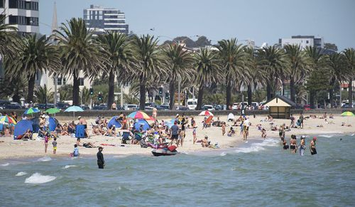 The heat blast could smash temperature records for this late in the season. (AAP)