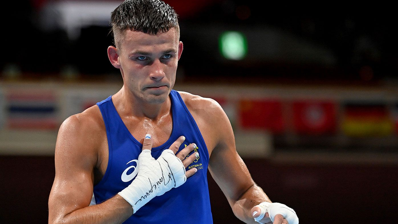 Aussie boxer Harry Garside claims bronze at Tokyo Olympics
