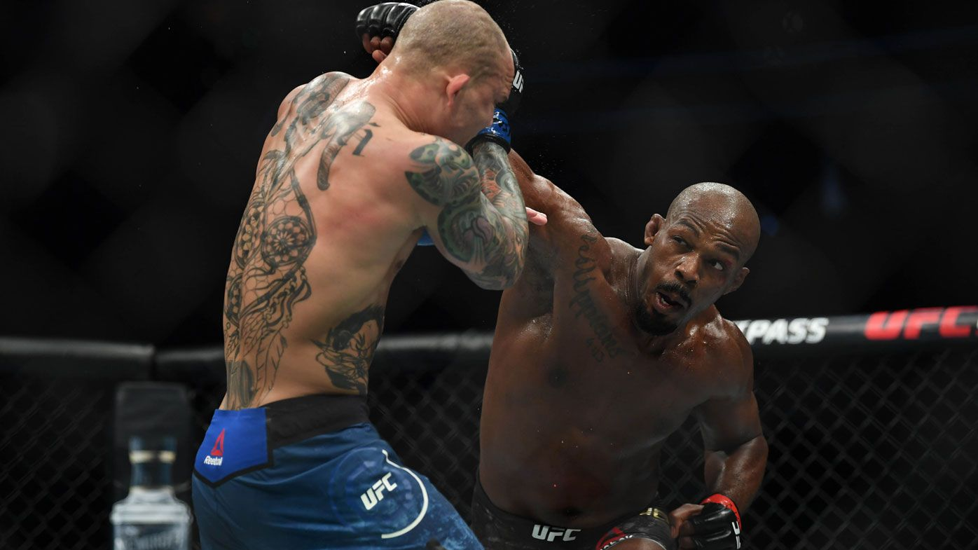 'I didn't want to steal it': Jones saved by act of sportsmanship at UFC 235
