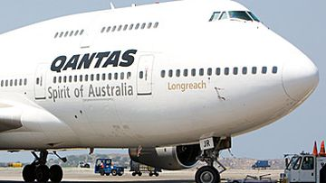 Qantas 747 Longreach (Getty)