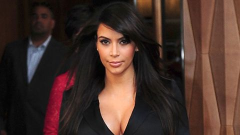 Kim K freaks out about pregnant body