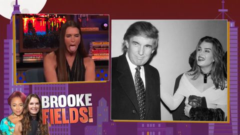 Brooke Shields recalls Donald Trump's pick up line