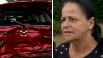 Road rage attack by mystery driver leaves car a write-off