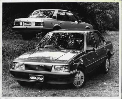 The Holden Camira in 1982