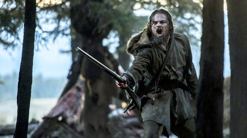 The Revenant is nominated for 11 Academy Awards, including Best Picture,  Best Actor in a Leading Role and Best Cinematography. (AAP)