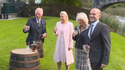 Prince Charles and Camilla visit Scotland, September 2019