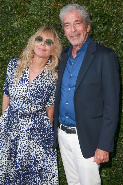 Actress Rosanna Arquette and actor Todd Morgan