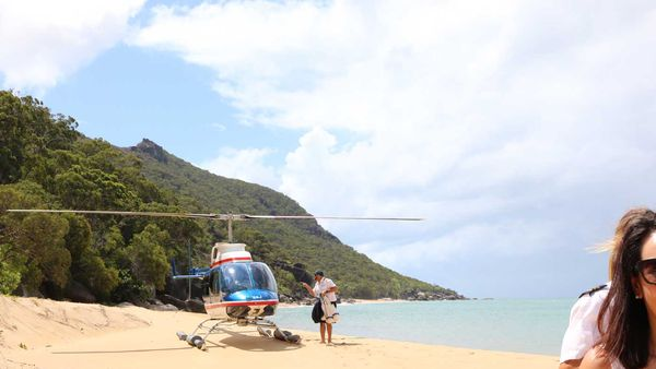 GBR Helicopters Cairns private island experience