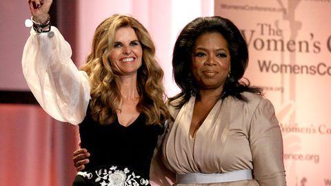 Oprah desperate to interview Arnold Schwarzenegger's wife