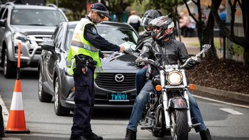 Man who declared Melbourne travel 'waved through' border checkpoint
