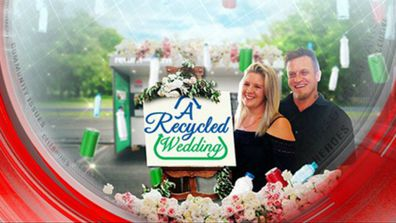 A recycled wedding