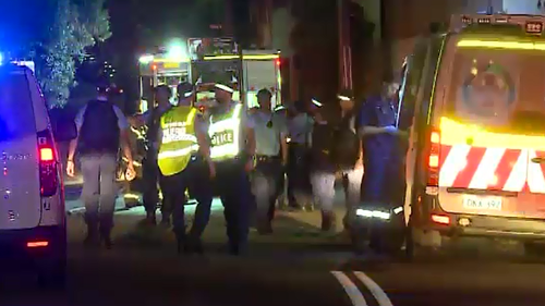 Early investigations suggest the fire was deliberately lit. (9NEWS)