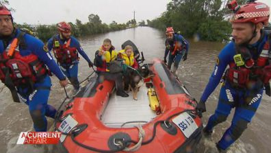 SES volunteers take a day off work to save beloved community