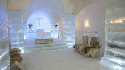 Europe's coolest luxurious ice hotels
