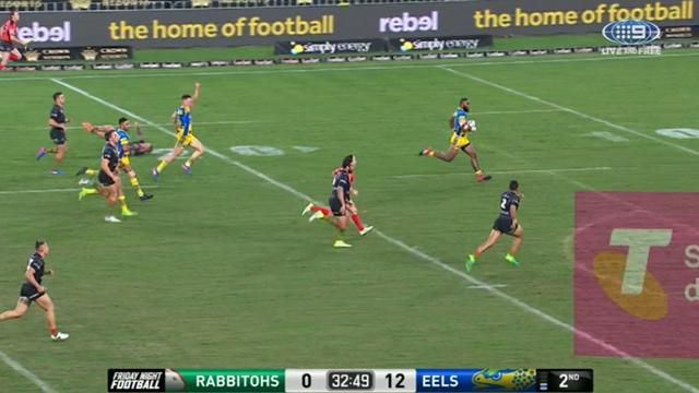 Radradra crosses for Eels
