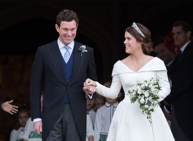 Princess Eugenie's tribute to her royal wedding to Jack Brooksbank