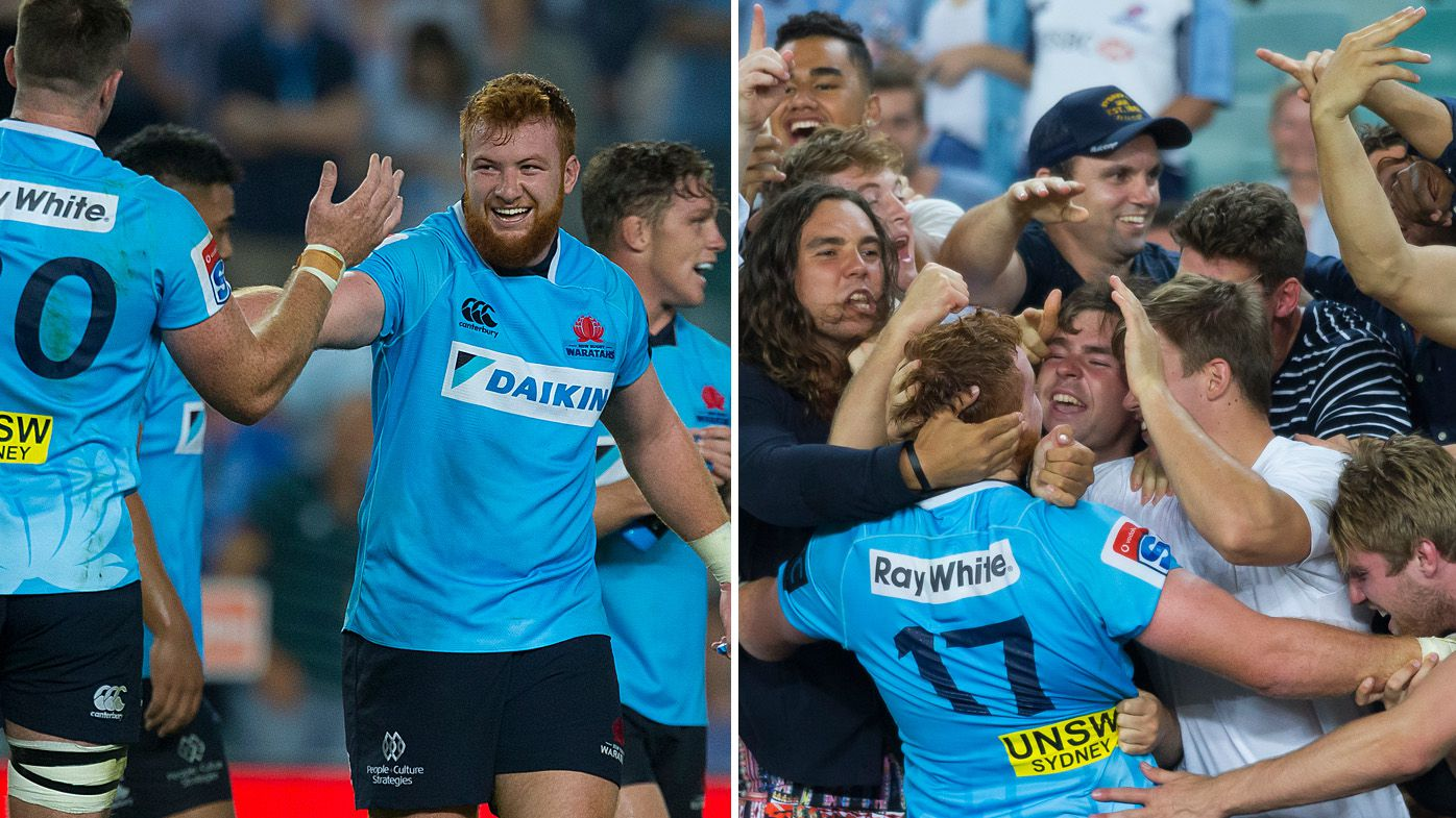 Hanigan leaves it late for Waratahs win