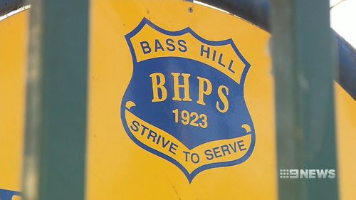 Four students at Bass Hill Primary School have alleged that the teacher assaulted them. Picture: 9NEWS