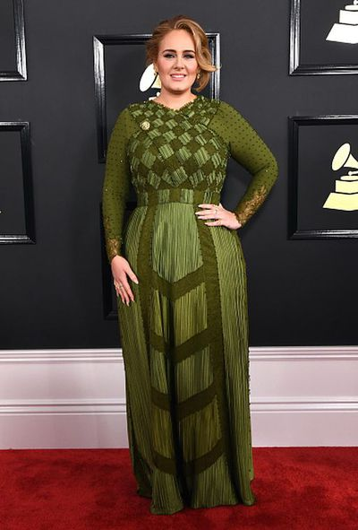 Adele in Givenchy Haute Couture at the 2017 Grammy Awards