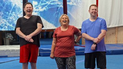 The Fren family's 'outrageous' struggle trying circus tricks