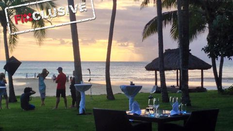 EXCLUSIVE PICS! Jennifer Hawkins on Myer campaign in Fiji... and her lavish $2500 per night suite