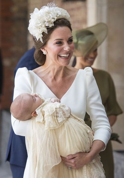 Duchess of Cambridge Prince Louis Christening