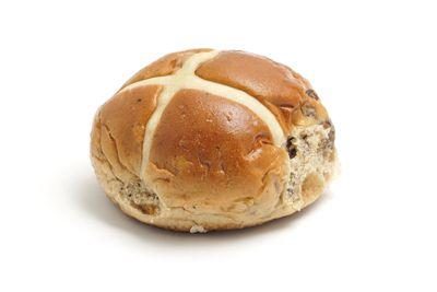 Fruit bun: 4 teaspoons of sugar
