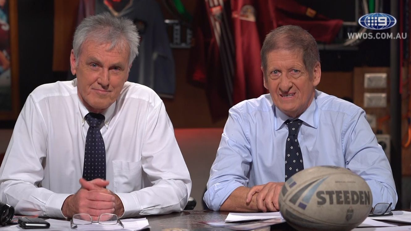 'Rampaging' Roy Slaven and HG Nelson to revisit 40 years of State of Origin for Nine