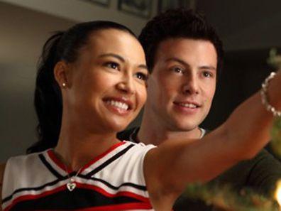 Cory Monteith, Naya Rivera, Glee
