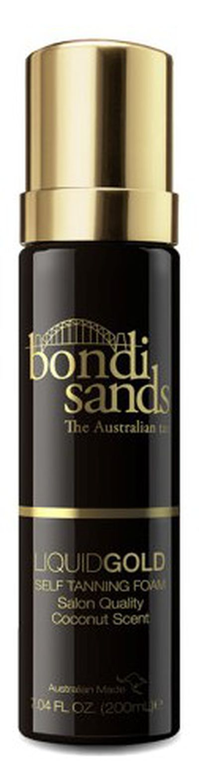 "<p><a href=""https://www.bondisands.com.au/shop/self-tan/liquid-gold-self-tanning-foam"" target=""_blank"" title=""Bondi Sands Liquid Gold Self Tanning Foam, $22.95"" draggable=""false"">Bondi Sands Liquid Gold Self Tanning Foam, $22.95</a></p> <p>The must-have product to add to your beauty bag for an Emmy Award-winning glow is, of course, fake tan.<br /> <br /> The latest innovation to come from Australia's no.1 (and Kylie Jenner-approved) tan brand, Bondi Sands, is a liquid gold self tanning foam.&nbsp;<br /> <br /> This formula is quick drying, leaves no sticky residue and requires no wash off.&nbsp; Infused with the scent of coconut and enriched with Argan Oil, known for its hydration and high vitamin E content for a flawless and long lasting tan.&nbsp;<br /> <br /> </p>"