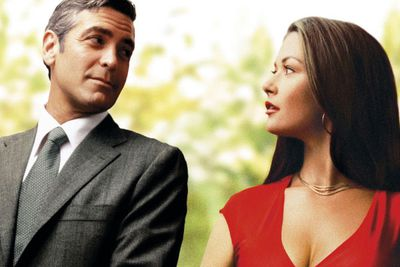 Example: <i>Intolerable Cruelty</i>, <i>One Fine Day</i>, <i>The Proposal</i>.<br/>