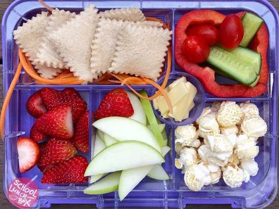 The Geelong father has gone viral for his creative lunches, and it's easy to see why!