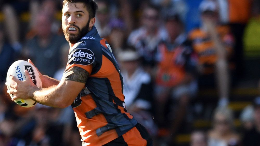 Wests Tigers fullback James Tedesco signs with Sydney Roosters