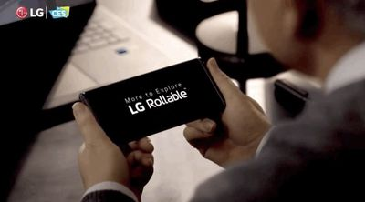 LG 'Rollable' smartphone