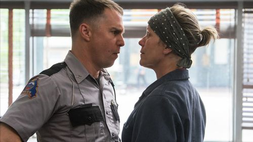 """Frances McDormand plays grieving mother Mildred Hayes in """"Three Billboards Outside Ebbing, Missouri"""". (Blueprint Pictures)"""