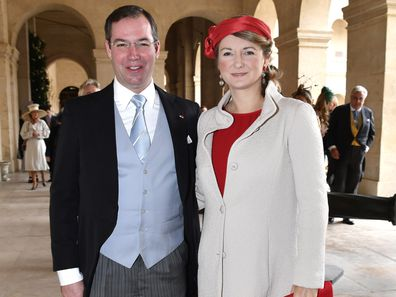 Prince Guillaume and Princess Stephanie of Luxembourg