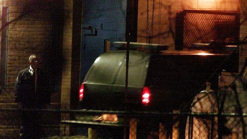 John Walker Lindh arrives at the Alexandria Detention Center under federal custody on Wednesday January 23, 2002.