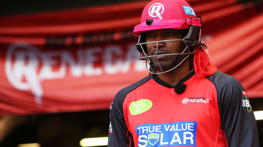 Renegades will sanction Gayle: CEO