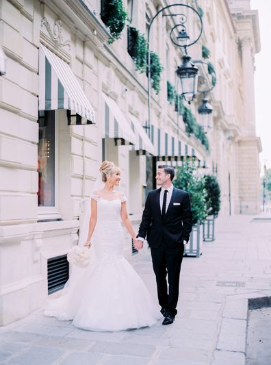 My Wedding Day Paris bride Lisa