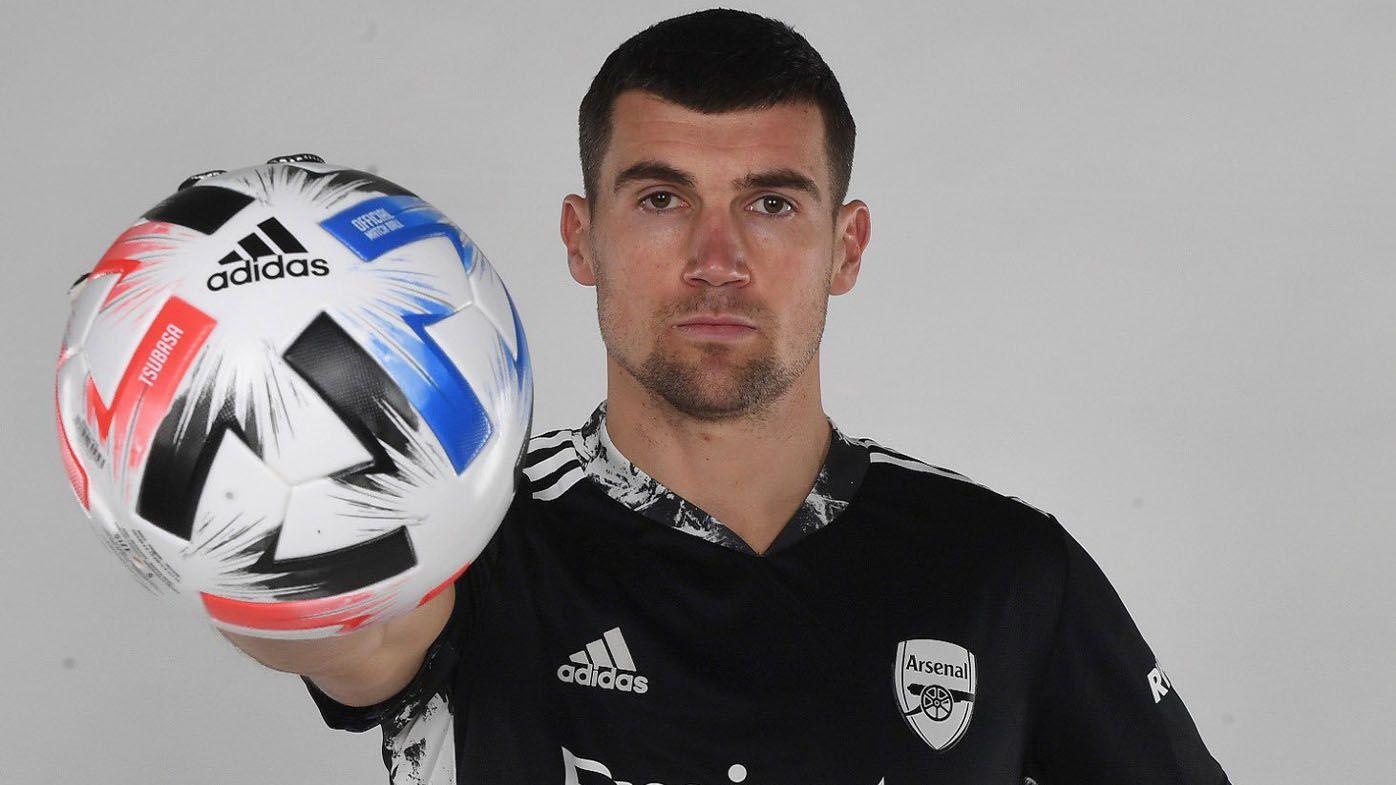 Australian goalkeeper Mat Ryan signs on loan with powerhouse English Premier League club Arsenal
