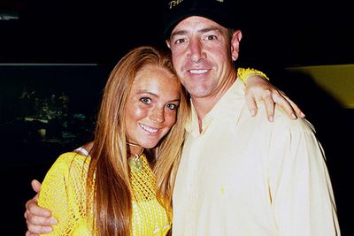 Lindsay Lohan's Dad loves nothing more than opening his big mouth and bitching to the media about his daughter. Actually, he's done enough embarrassing stuff to get a slideshow solely dedicated to himself.<br/><br/>First there was 2005, when Michael  was charged with attempted assault and while waiting to be sentenced, got caught driving under the influence. <br/><br/>After serving two-and-a-half years in jail, Michael decided to become a priest, despite an ongoing troubled relationship with drugs and alcohol.  <br/>