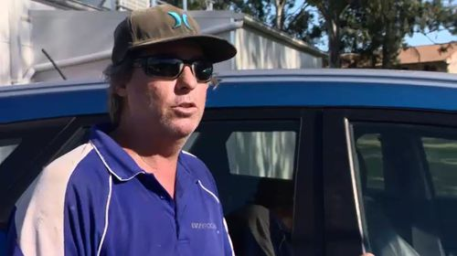Tradesman Simon Todd has been accused of not delivering after being paid an up-front deposit.