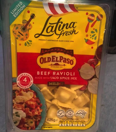 Latina Fresh and Old El Paso merging the flavours and spices into one glorious dish.