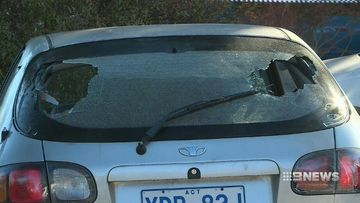 Police investigate second drive-by shooting in Canberra in a week