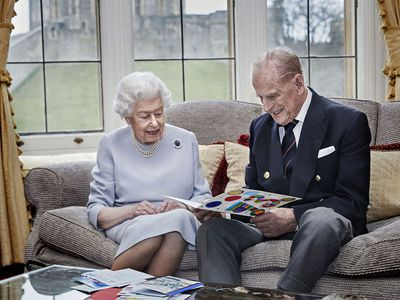 Queen and Prince Philip celebrate their 73rd anniversary, November