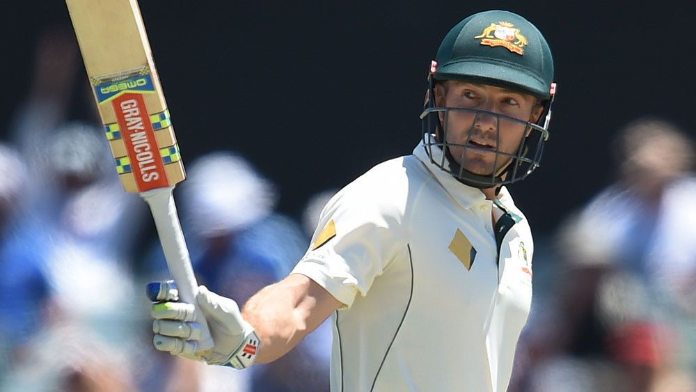 Shaun Marsh has been backed by Australia's stand-in T20 coach Justin Langer to fill the vacant No.6 position in the Test team. (AAP)